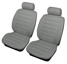 Chrysler G Voyager 94-06 Gris Frontal aspecto de cuero Auto Deportivo de cubiertas de asiento Airbag re