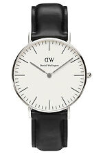 Daniel Wellington 0608DW Silver Classic Sheffield 36mm Womens Watch