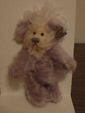 Annette Funicello Mohair Bear Purple Passion Bean Bag #3181 of 7500 Nib!