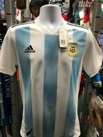 Adidas Argentina Home Player Version 2018 Soccer Jersey Size S Men's Only