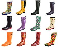 Damen Gummistiefel Regenstiefel bunte Muster/ Farben Gr. 36,37,38,39,40,41,42