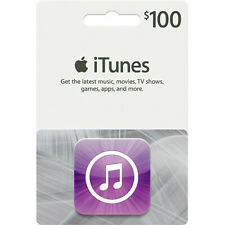 $100 App Store and iTunes Gift Card (Worldwide Shipping)