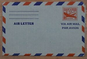 MayfairStamps US 10 Cent Airplane in Clouds Mint Stationery Aerogramme wwp83275