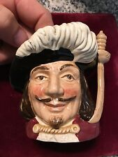 """Royal Doulton Porthos D6453 Character Toby Jug Made in England 1955 4"""" Creamer"""