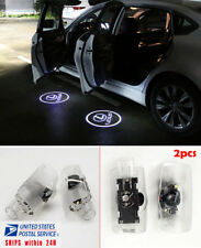 2pcs LED Car Door Courtesy Step Laser Projector Logo Shadow Lights For GS HS IS