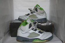 Nike Air Jordan V 5 Retro Size 9.5 Green Bean (3M Reflective) 2006 Used Supreme
