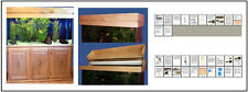 Woodworking Project Paper Plan to Build a 90 gallon Aquarium Cabinet Stand