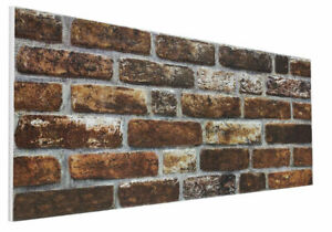 3D BRICK EFFECT WALL CEILING PANELS POLYSTYRENE DIY - DL141