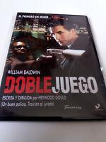 """DVD """"DOBLE JUEGO"""" COMO NUEVO CAJA SLIM HEYWOOD GOULD WILLIAM BALDWIN ELIZABETH M"""