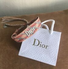 DIOR COTTON WOVEN BRACELET BRAND NEW ** VIP GIFT LIMITED EDITION (B)