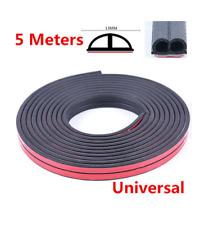Weatherstrip B-type Car Door Boot Seal Strip Edge Trim 5M 16ft Rubber Seal Tape