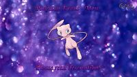 Mew Event 6IV - Pokemon X/Y OR/AS S/M US/UM Sword/Shield