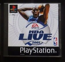 NBA LIVE 2001 : JEU Sony PLAYSTATION PS1 PS2 (basket ball COMPLET envoi suivi)