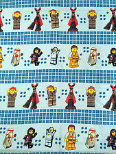 "LEGO Mini Figures Fabric L96"" x W38"" inches - Cotton Blend"