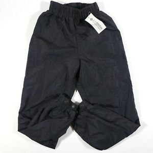 NEW COLUMBIA Powder Ski Snowboard Pants Men's Small Black Nylon NOS SM8210-010