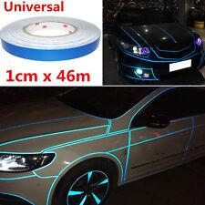 1cm x 46cm Reflective Sticker Tape Car Truck Body Stripe DIY Self Adhesive Tape