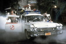 GHOSTBUSTERS DAN AKROYD ECTOMOBILE 8X10 GLOSSY PHOTO PICTURE IMAGE #2