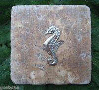 Plaster cement mini seahorse plastic travertine tile mold