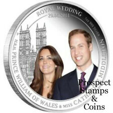 2011 Royal Wedding Prince William & Catherine Middleton 1oz Silver Proof coin