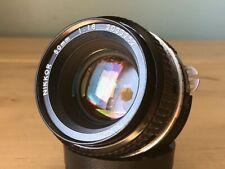 Nikon 50mm f1.8 Ai Prime Full Frame Manual Focus Lens FX