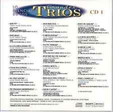rare BOLERO 60s 70s CD slip TRIOS Panchos 3 ASES Diamantes Hnos Martinez Gil