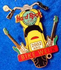MYRTLE BEACH YELLOW REAR END VIEW MOTOR CYCLE BIKE WEEK 02 Hard Rock Cafe PIN LE