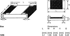 SMD Widerstand Widerstände 680 Ohm  Bauform 1206 # 5000 Stück 1 Rolle