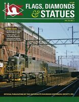 FLAGS, DIAMONDS & STATUES, 2019-1 issue, Anthracite RRs Historical Society (NEW)