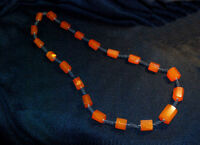 BALTIC AMBER Beads necklace Vintage Natural Honey  ~ Gorgeous