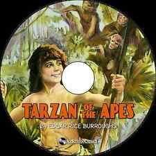 Tarzan of the Apes - Unabridged MP3 CD Audiobook in paper sleeve