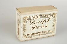 William Mitchell's Script Pens 36 x Boxed NOS 0873/ 1/2 3 dozen Nibs Birmingham
