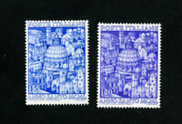 Italy Stamps # 535-6 VF OG LH Set of 2 Scott Value $36.00