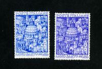 Italy Stamps # 535-6 VF OG LH Set of 2 Scott Value $36.00
