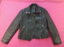 Women's Select Ladies Jacket Coat Zip Up Biker Casual Tops Outfit UK8 (CL1)