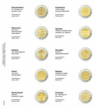 Lindner 1118-18 Vordruckblatt für 2 Euro-Gedenkmünzen: Griechenland Januar 2016