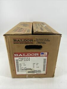 NEW BALDOR CDP3330 MOTOR .5HP 1750RPM 90V 33-2024Z122 PM3336P