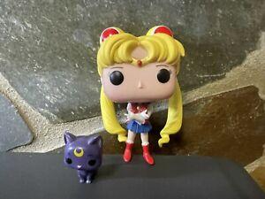 Funko pop Sailor Moon & luna  No Box-pop only- anime manga