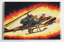 Dragonfly FRIDGE MAGNET (2.5 x 3.5 inches) gi joe real american hero helicopter