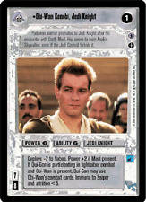 Obi-Wan Kenobi, Jedi Knight [Near Mint/Mint] REFLECTIONS III star wars ccg swccg