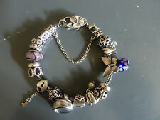 Trollbeads Armband mit 13 Charms