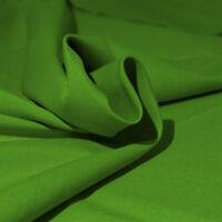 Tessuto Cotone al Metro Tinta Unita Verde Pino h 280 cm Tappezzeria Tende SARANI