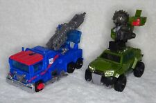 Transformers Prime Voyager Class Bulkhead And Ultra Magnus 100% Complete