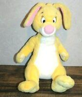 "Walt Disney Company 14"" Plush YELLOW RABBIT Winnie The Pooh Friend Stuffed Toy"
