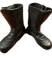 Alpinestars Gore Tex Motorcycle Boot Women size 48 US 12.5 Black Leather