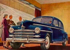 1946-1948 Plymouth 4 Door Sedan Complete Master Weatherstrip Kit!