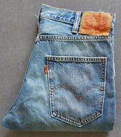 Herren Jeans LEVIS LEVI´S 517 Bootcut Cropped Orange Tab 36093-0000 W32 L32