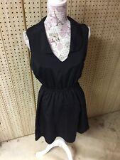 Kardashian Collection Black Sleeveless Light Weight Dress Size L