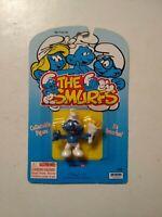 Vintage 1995 The Smurfs - Smurfun -  Peyo Schleich Irwin Smurf PVC Figure #20825