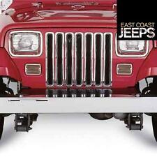 Smittybilt Chrome Grille Inserts for Jeep YJ Wrangler 7509