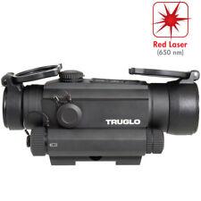 Truglo Tru Tec 30MM Red Dot Sight Integrated Red Laser TG8130RN